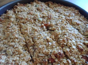 Low FODMAP Fruity Flapjacks