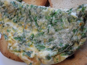 Persian Omelette with Fresh Herbs