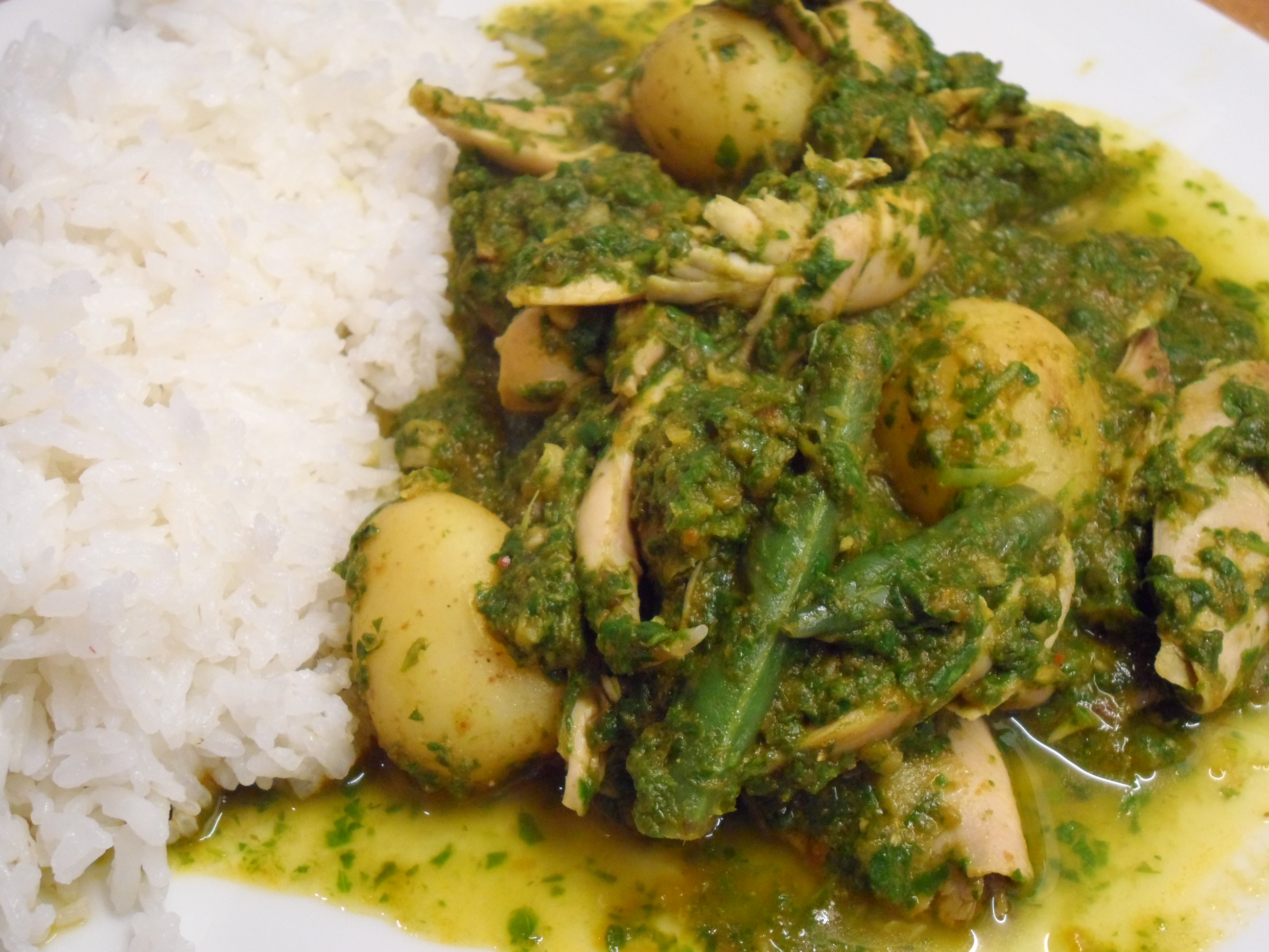 Low FODMAP Punjabi Chicken & Spinach Curry