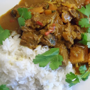 Low FODMAP inspired Beef Rendang