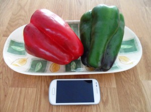 Large Spanish peppers!!