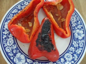Charred pepper