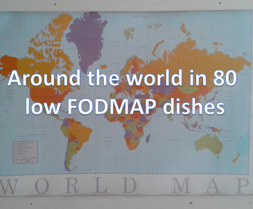 'Around The World In 80 Low FODMAP Dishes' – a collection of the best low FODMAP foods and recipes as we travel the globe.