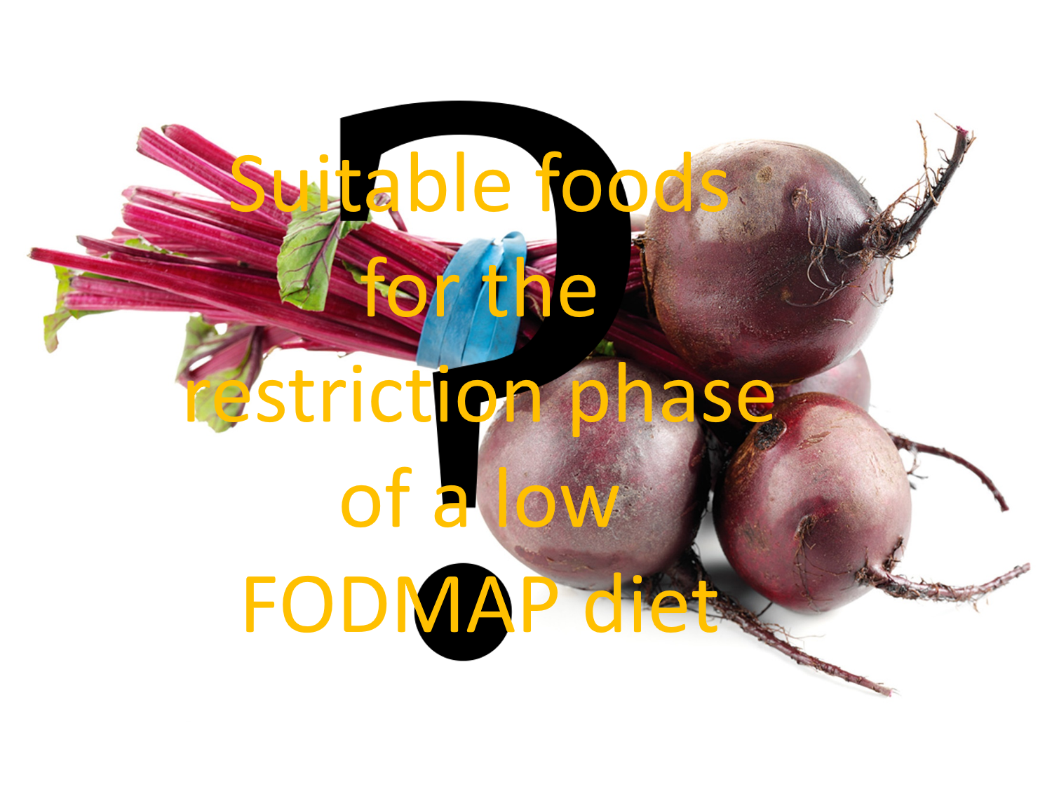suitable foods on a low fodmap diet