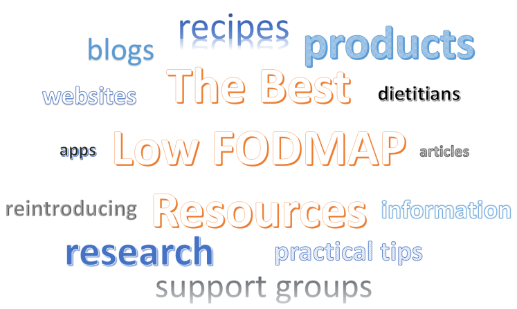 The Best Low FODMAP Resources